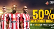 Dafabet … 50% Welcome bonus